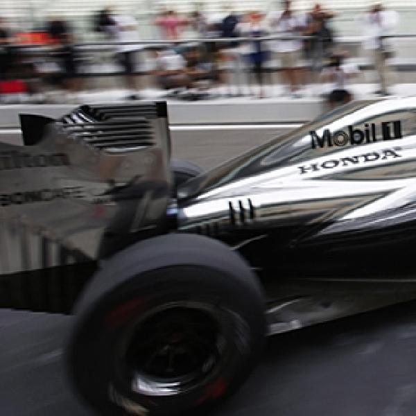 Tes Perdana McLaren Honda F1 Team