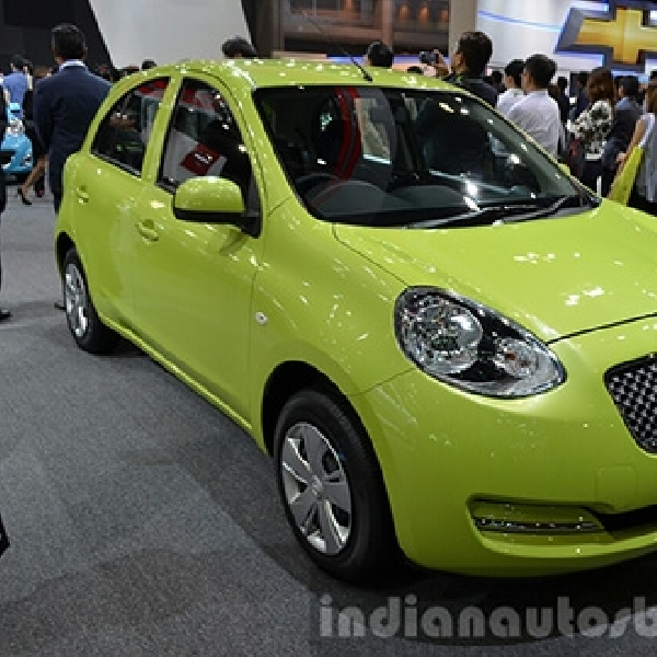 Nissan March Tampil Beda di Thailand Motor Expo 2014