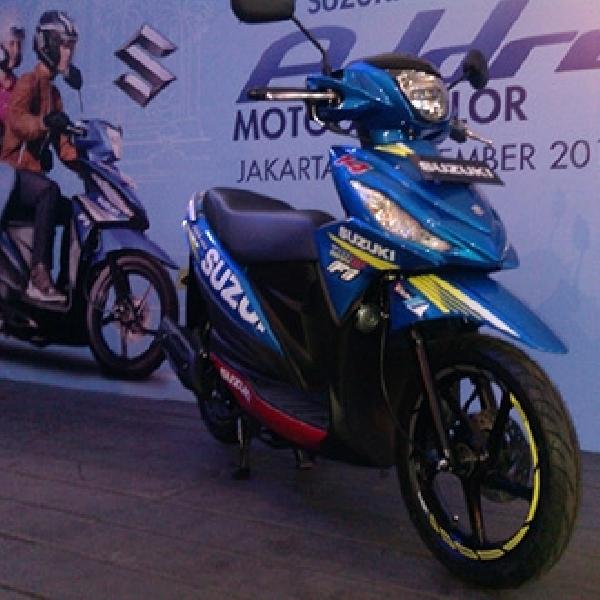 Striping Baru Suzuki Rilis Address versi MotoGP