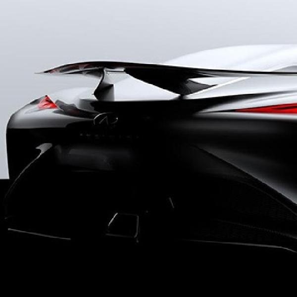 Penampakan Vision GT Concept Infiniti