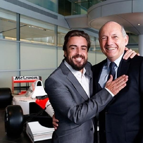 Alonso Ternyata Telah Lama Gabung McLaren
