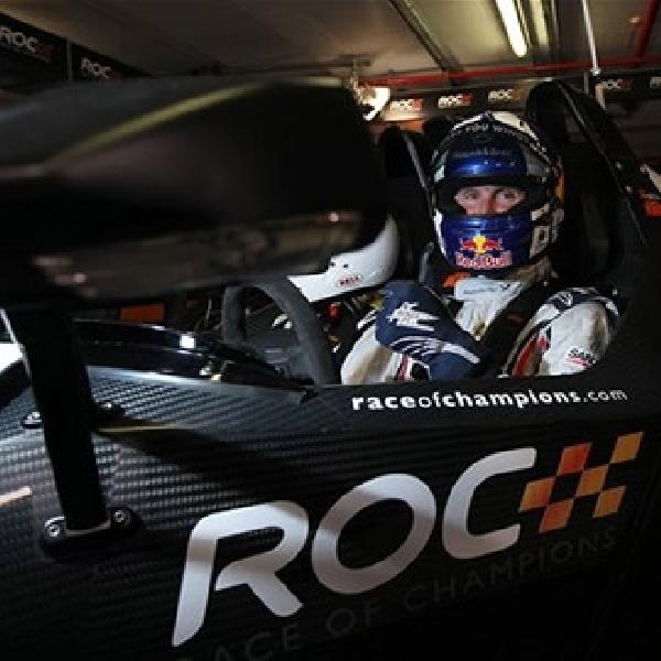 David Coulthard Juara Race of Champions