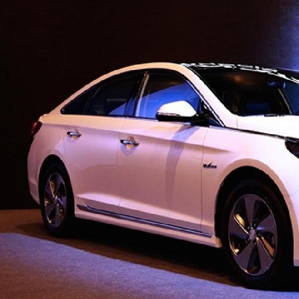 Hyundai Sonata Hybrid Memulai Debutnya di Seoul