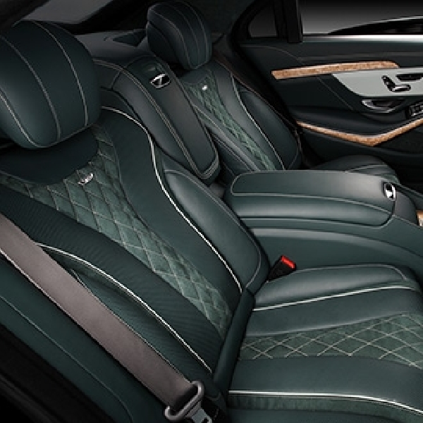 TopCar Rombak Interior Mercedes Benz S600 Guard