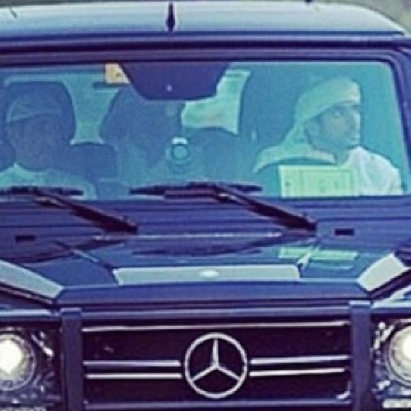 Wapres Arab Latih Kuda Pakai Mercedes-Benz G63 AMG