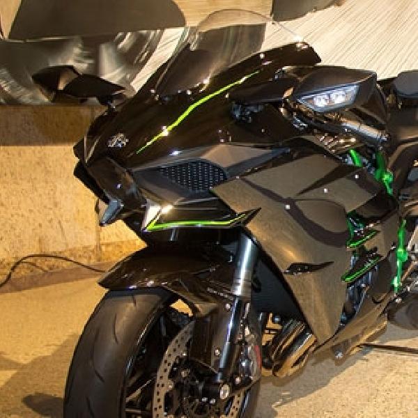 Modifikasi Kawasaki H2 dengan Spek Dragrace Diperkenalkan