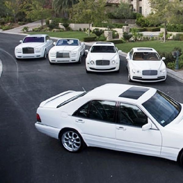 Putih Jadi Warna Dominan Mobil Baru di 2014