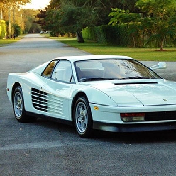 Ferrari Testarossa Miami Vice Ini Ditawarkan Rp 21 Miliar