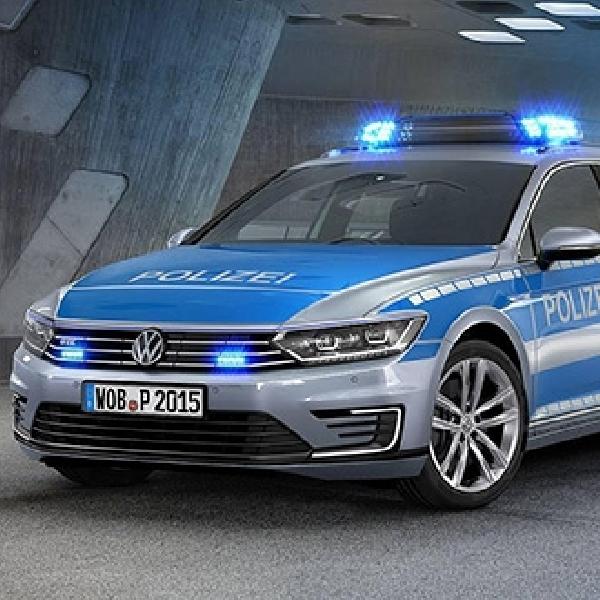 Polisi Jerman Dipersenjatai Volkswagen Passat GTE Hybrid