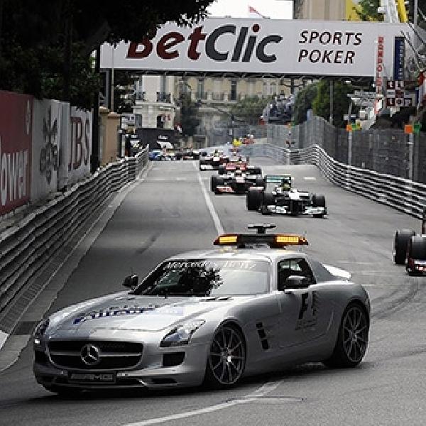 Mengintip Isi Kabin Safety Car F1