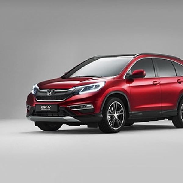 Honda CR-V Facelift Dirilis Untuk Pasar Eropa