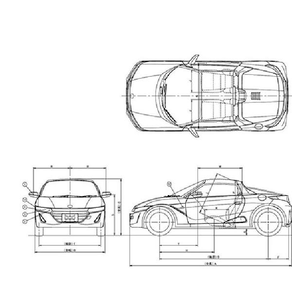 Spesifikasi Honda S660 Terkuak Lewat Brosur
