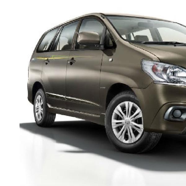 Rayakan 10 Tahun, Toyota Luncurkan Innova Limited Edition