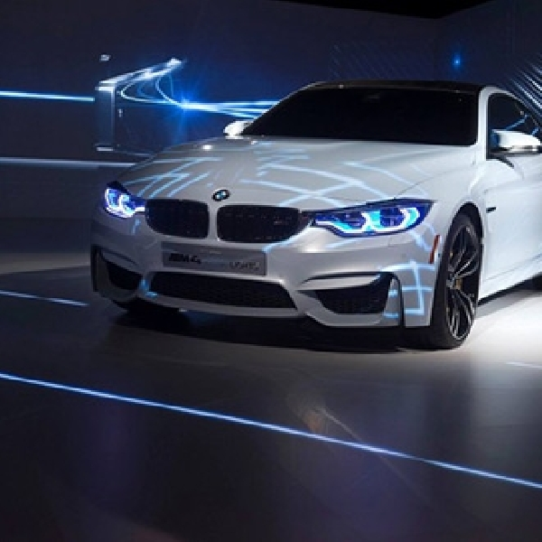 BMW M4 Concept Iconic Light 'Mejeng' di CES 2015