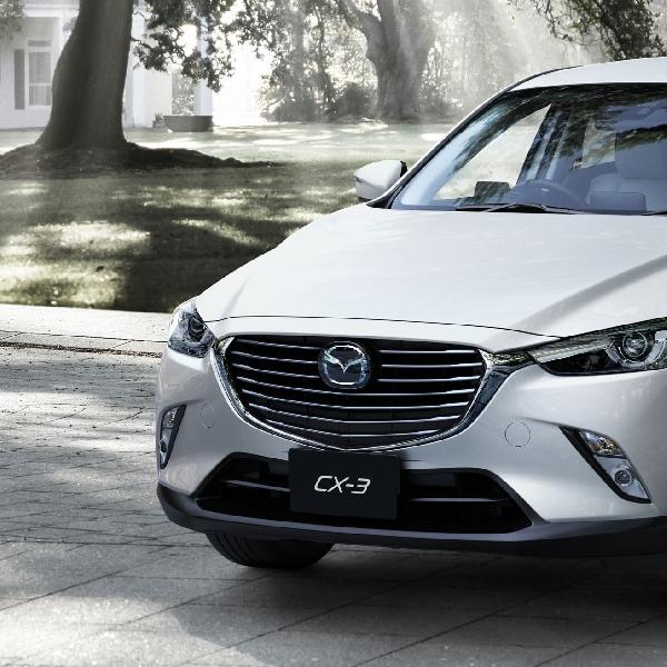 Mazda CX-3 Siap Tantang Honda HR-V dan Ford EcoSport
