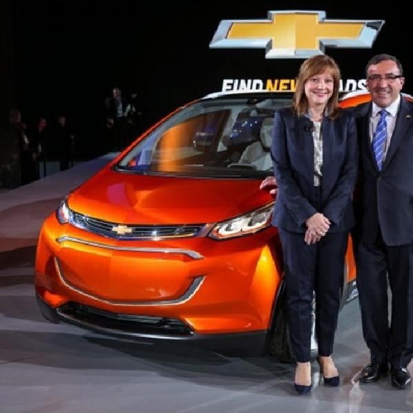 Chevrolet Kenalkan Konsep Bolt di NAIAS
