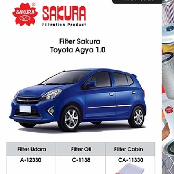 Sakura Filter Lengkapi Produknya Untuk Produk Mobil LCGC