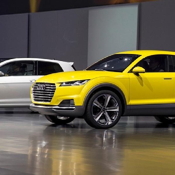 Audi TTQ Crossover Segera Masuk Produksi