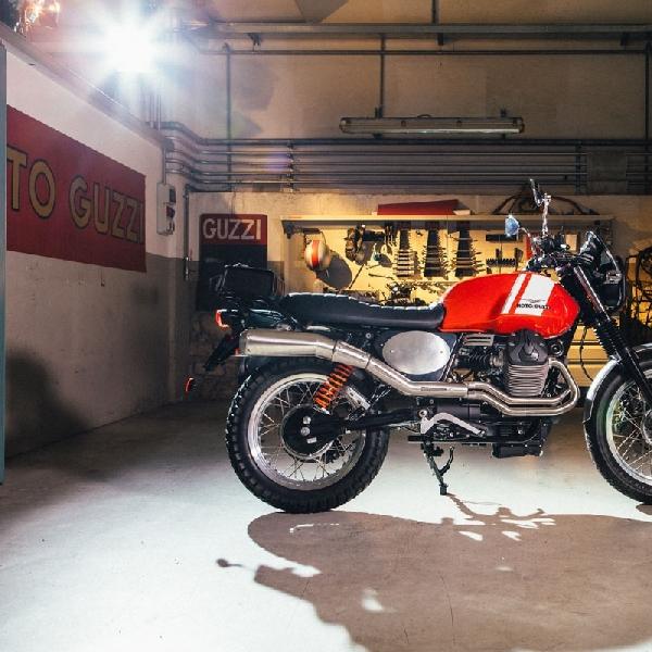 Moto Guzzi Sediakan Paket Modifikasi Scrambler