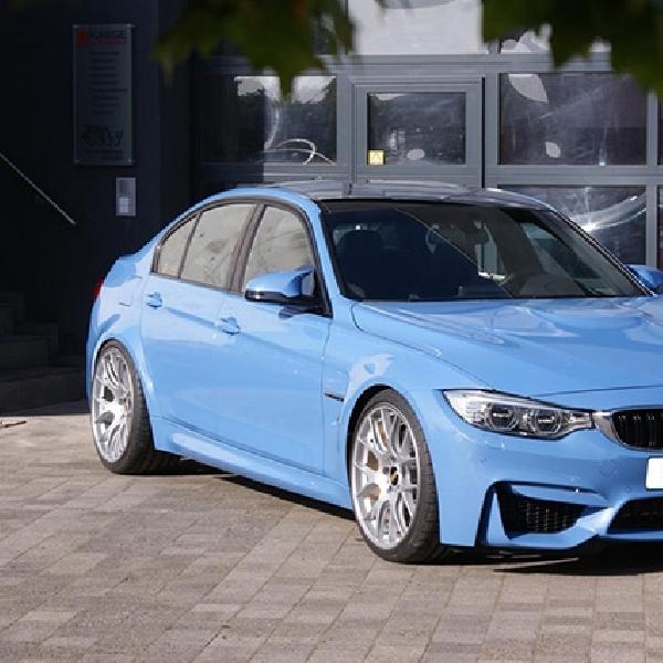 Racikan Baru Untuk BMW M3 Sedan Besutan Kaege