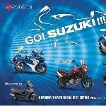 Line Up Moge Suzuki Sambangi Mall di Jakarta
