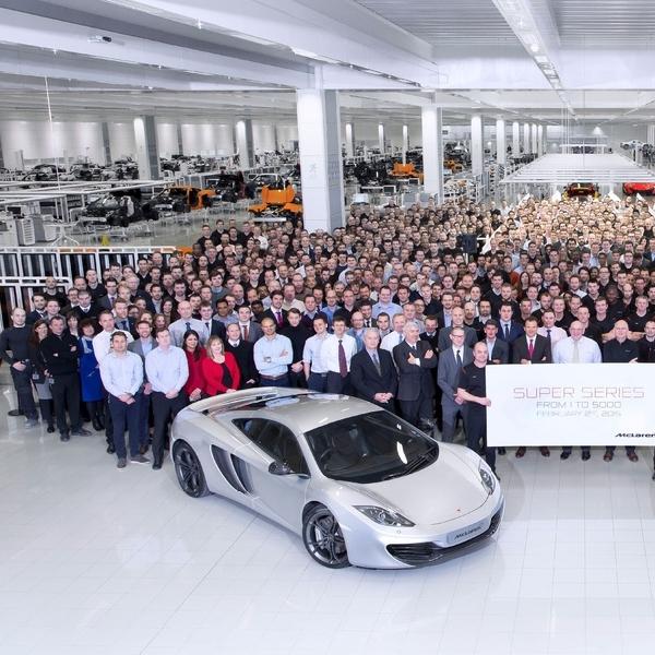 McLaren Super Series Rayakan Produksi 5.000 Unit