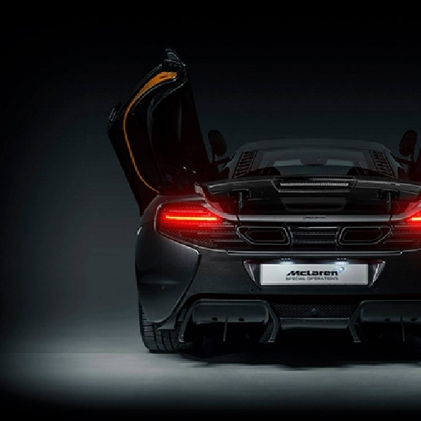 McLaren Ungkap Maha Karya Terbarunya Project Kilo