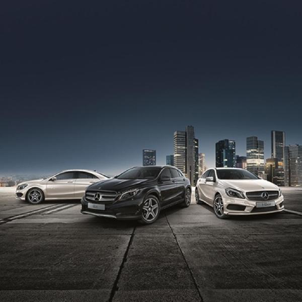 Mercedes Rilis Tiga Model Spesial Untuk Pasar Jerman