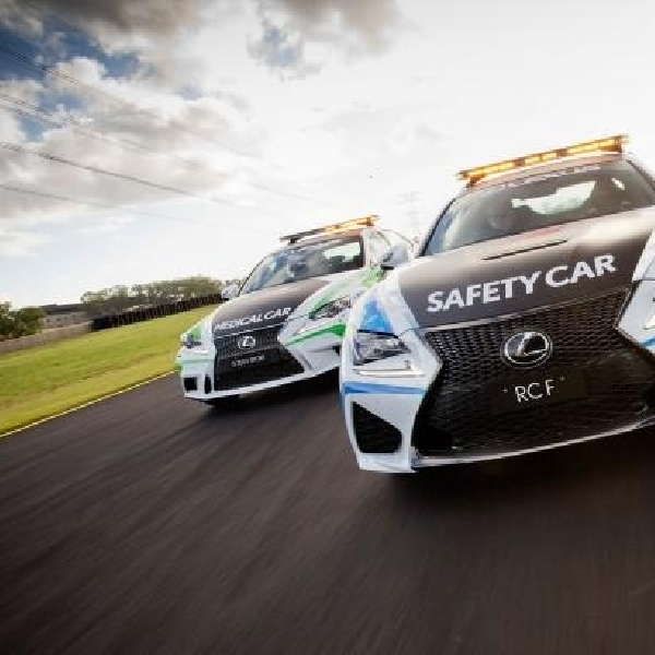 Lexus RC-F Didapuk Menjadi Safety Car V8 Supercars