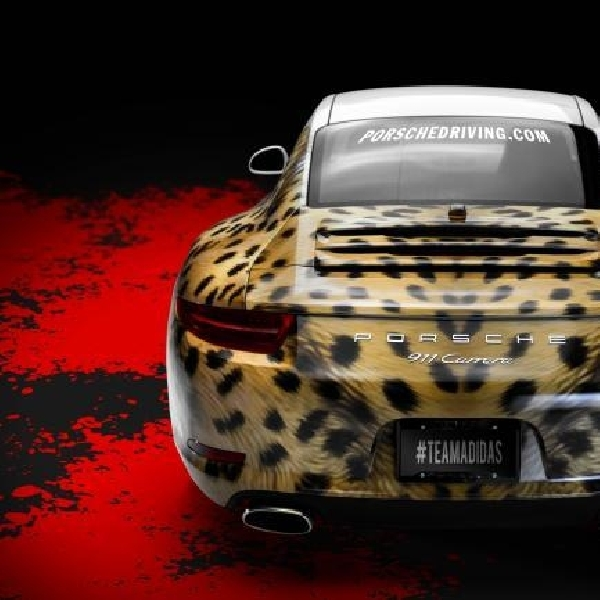 Modifikasi Porsche 911 Terinspirasi Dari Sepatu Adidas