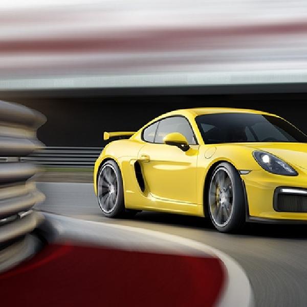 Porsche Cayman GT4 Suguhkan Inovasi Teranyar
