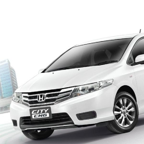 Honda Belum Punya Rencana Pasarkan City CNG di Indonesia