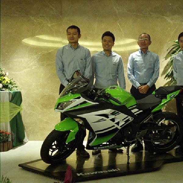 Kawasaki Tetap Pertahankan Line Up Ninja 250
