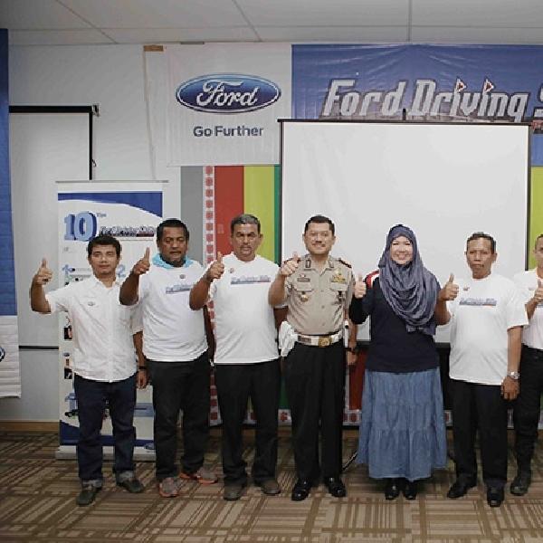 Aceh Jadi Kota Pertama Kampanye Keselamatan Ford DSFL