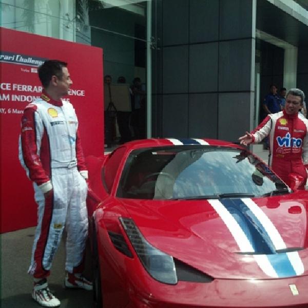 Ferrari Jakarta Turunkan Dua Pebalap Diajang Ferrari Challenge 2015