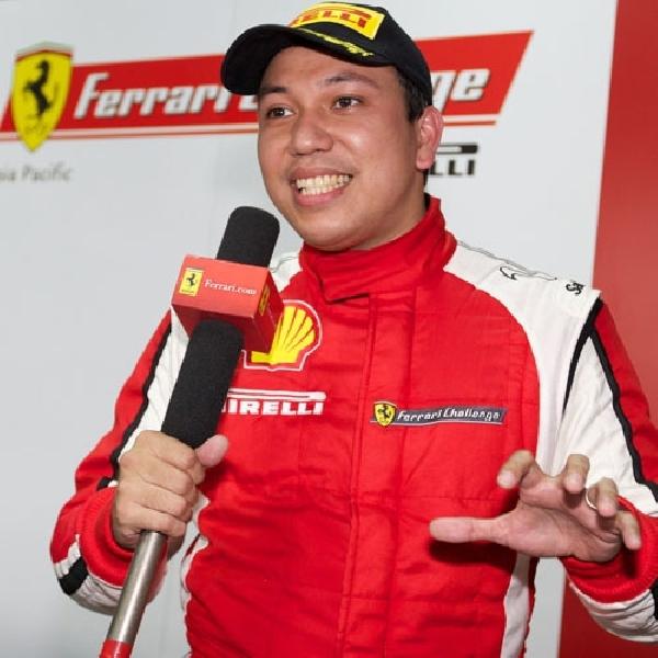 Renaldi Hutasoit : Kami Pasang Target Podium Untuk Ferrari Challenge 2015