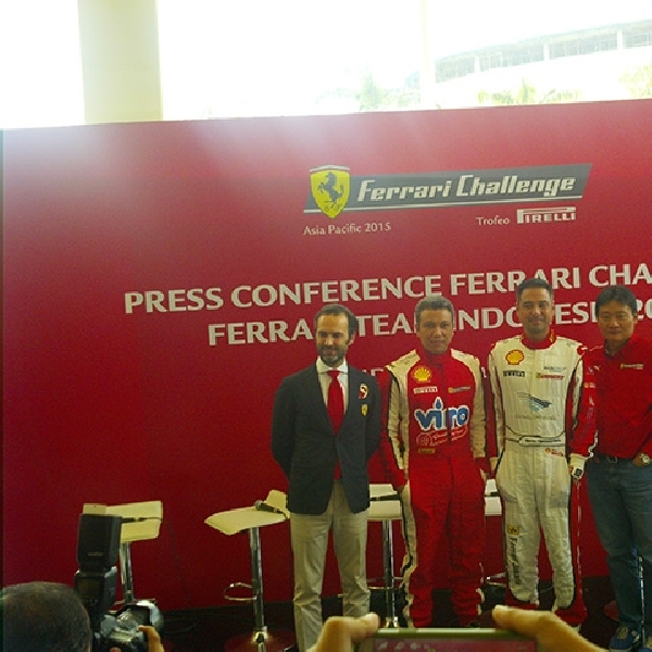 IMI : Sentul Layak Untuk Gelar Ferrari Challenge 2015