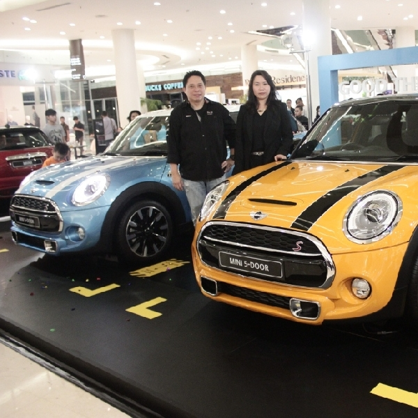 New MINI 5-Door Tiba di Surabaya