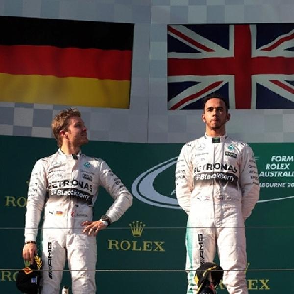 Hamilton Kokoh, Vettel Kebagian Podium