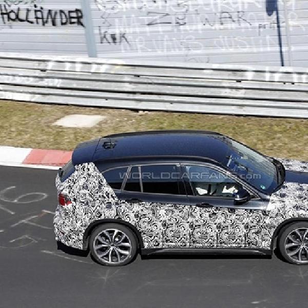 Generasi BMW X1 Tertangkap Kamera