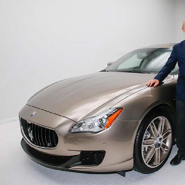 Maserati Quattroporte Zegna Limited Edition Cuma Ada 100 Unit