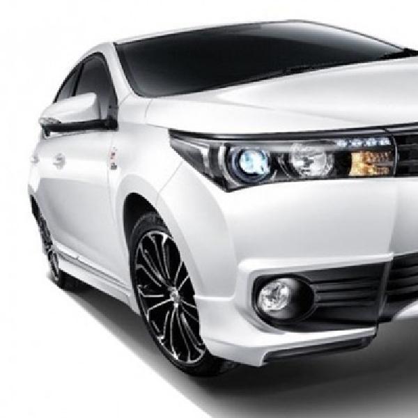 Toyota Corolla Esport Nürburgring Edition Mejeng di Bangkok Motor Show