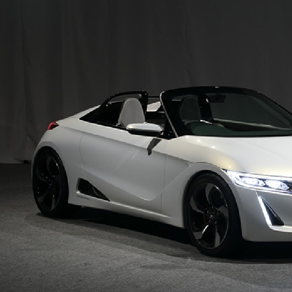 All New Honda S660, Sportcar Mini Beratap Terbuka