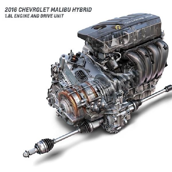 Chevrolet Malibu Hybrid 2016 Sekarang Lebih Irit