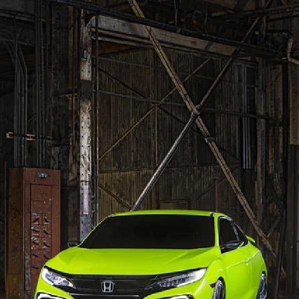 All New Honda Civic Concept Mejeng di New York Auto Show 2015