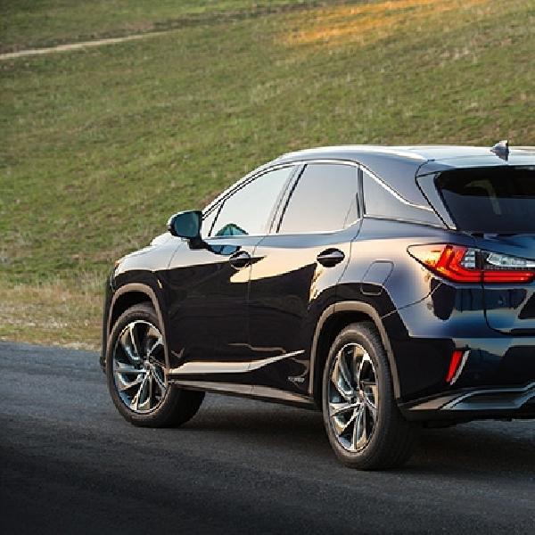 Lexus RX Terbaru Menyapa di New York Motor Show 2015