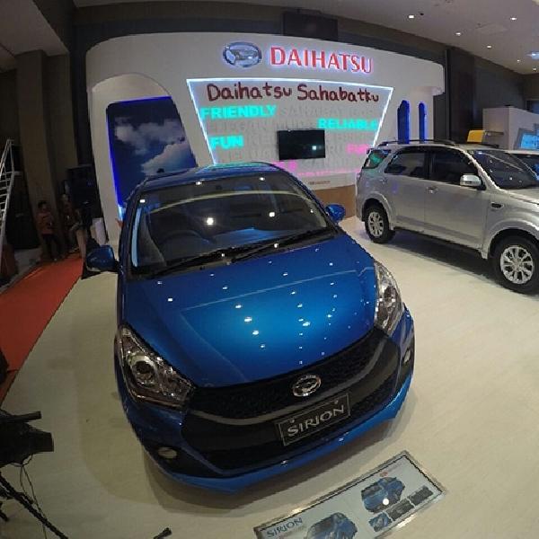 Daihatsu New Terios dan New Sirion Pamer Diri di Medan