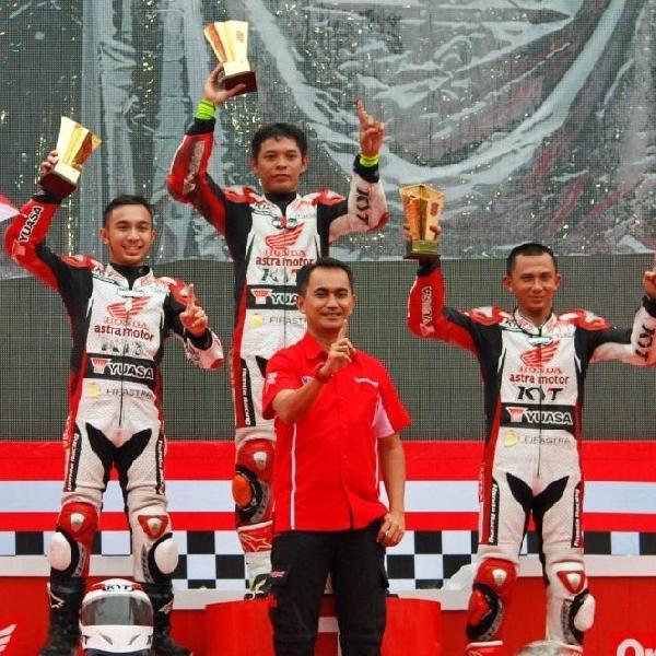 Sudarmono Raih Juara di Honda Racing Championship