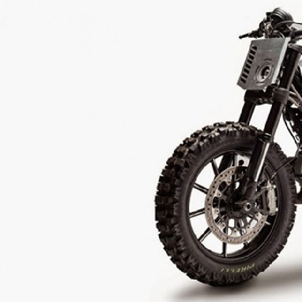 Modifikasi Ducati Scrambler Off-Road Style