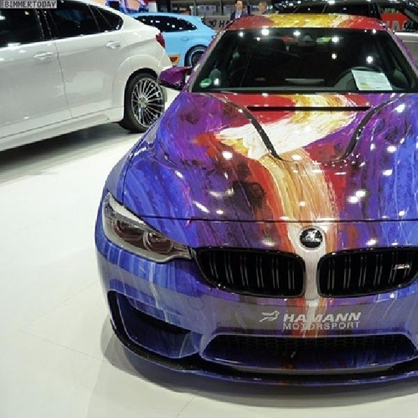 BMW M4 Art Car Karya Hamann